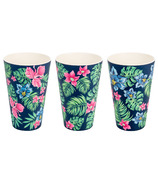 Woodway Bamboo Cup Set Tropical