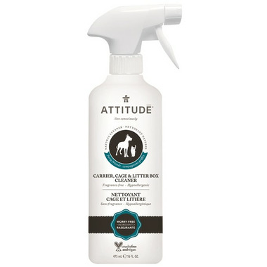 ATTITUDE Furry Friends Cleaner & Odor Destroyer Fragrance Free