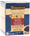Teeccino Dandelion Red Chai Roasted Herbal Tea