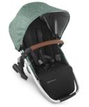 UPPAbaby VISTA V2 Rumbleseat Emmett Green Melange Silver Saddle Leather