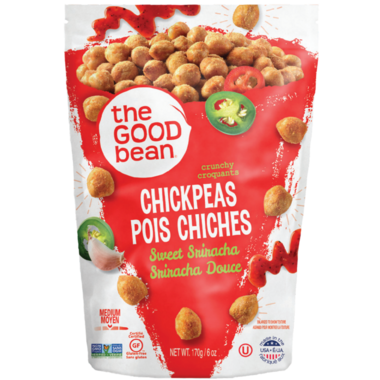 The Good Bean Sweet Sriracha Chickpeas