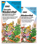 Salus Haus Kindervital Liquid Multivitamin for Kids Bonus Pack