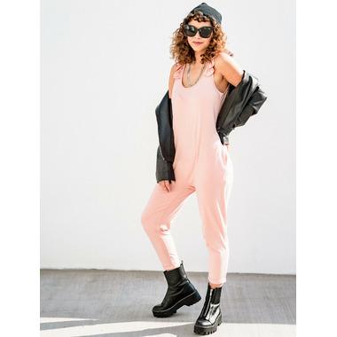 Smash + Tess The Sweetheart Romper Pretty Pink