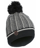 Kombi The Hip Hat Junior Black-White Chevron
