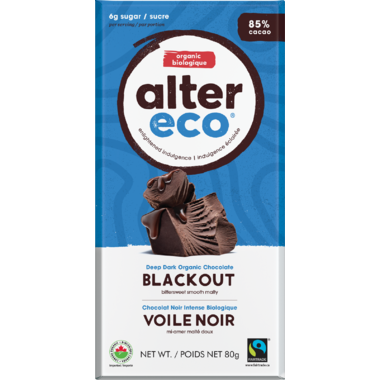 Alter Eco Dark Organic Chocolate Blackout