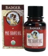 Badger huile de pré-rasage navigateur soins pour hommes classiques