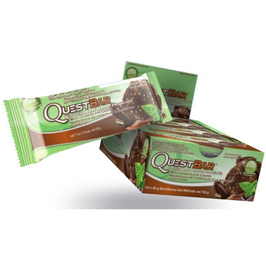Quest Nutrition Mint Chocolate Chunk Protein Bars