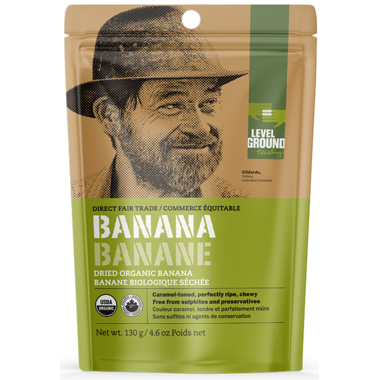 Level Ground Organic Dried Banana