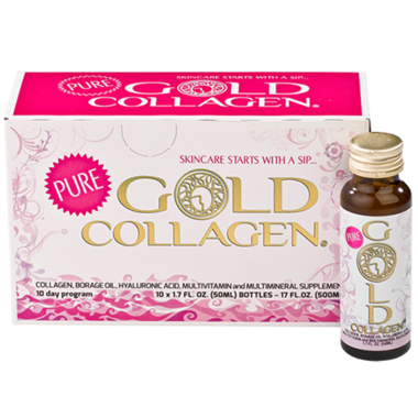 Pure Gold Collagen Liquid Collagen Beauty Supplement