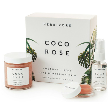 Herbivore Botanicals Coco Rose Luxe Hydration Trio Set