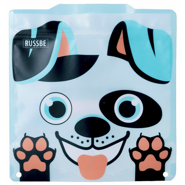 Russbe Reusable Snack and Sandwich Bags Dog