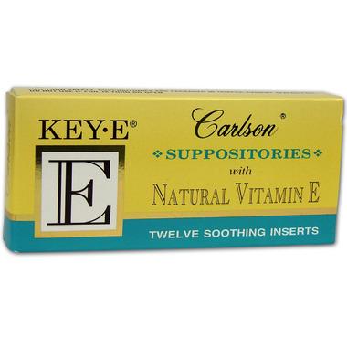 Carlson Key-E Vitamin E Suppostories