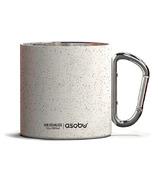 Asobu Campfire Carabiner Mug White