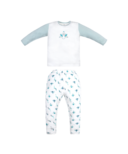 Nest Designs Two Piece Bamboo Jersey PJ Set Peacock