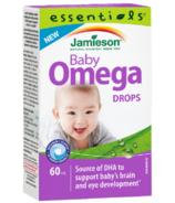 Gouttes oméga-3 Jamieson Baby