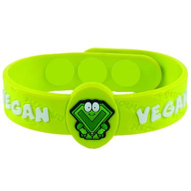 Allermates Dietary Awarness Wristband for Vegans