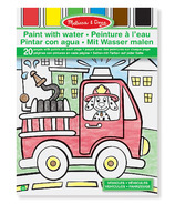 Melissa & Doug Paint With Water Vehicles