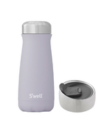 S'well Purple Garnet Traveler Bottle + Commuter Lid Bundle