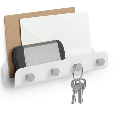 Umbra Yook key Hook White & Grey