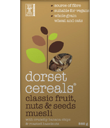 Dorset Cereals Classic Fruit, Nuts & Seeds Muesli Banana & Hazelnut