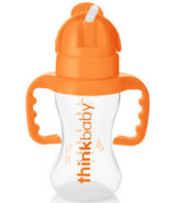 thinkbaby Thinkster Straw Bottle Orange