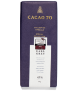 Cacao 70 Special Collection Earl Grey Tea-Infused Milk Chocolate