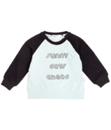 Miles Baby Turquoise Sunny Days Ahead Crewneck 12M-24M