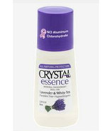Crystal Essence Lavender & White Tea Roll-on Deodorant
