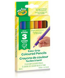Crayola My First Jumbo Easy-Grip Coloured Pencils