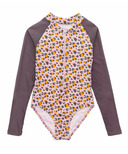 Snapper Rock Leopard Love Long Sleeve Surf Suit