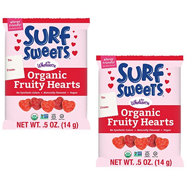 Surf Sweets Organic Fruity Hearts