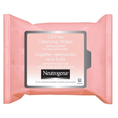 Neutrogena Oil-Free Pink Grapefruit Cleansing Wipes