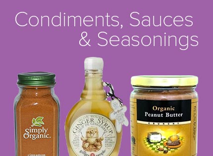 Condiments, Sauces & Dressings