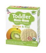 Hot-Kid Toddler Mum-Mum Organic Mango & Kiwi Rice Biscuits
