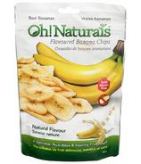 Oh! Naturals Banana Chips Natural Flavour