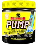 Mammoth Pump Clear Raspberry