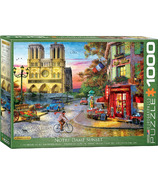 Eurographics Notre Dame Sunset Puzzle