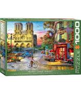 Eurographics Notre Dame Sunset Puzzle