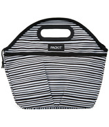 PackIt Freezable Traveler Lunch Bag Wobbly Stripes
