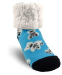 Pudus Classic Slipper Sock Polar Bear Blue Kids