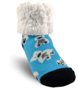 Pudus Classic Slipper Sock Polar Bear Blue Kids