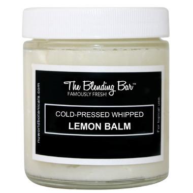 Nuworld Botanicals The Blending Bar Cold-Pressed Whipped Lemon Balm