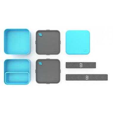 Monbento MB Square The Square Bento Box in Light Blue