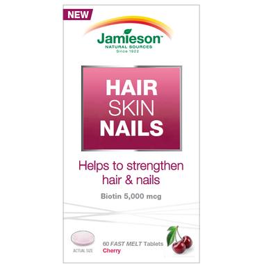 Jamieson Hair, Skin & Nails