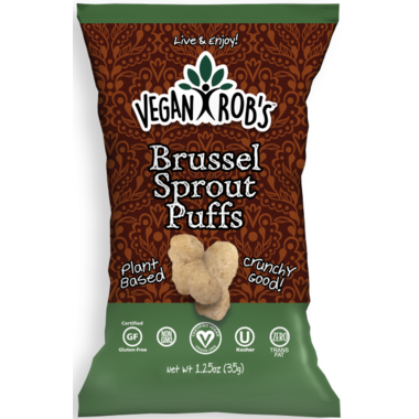 Vegan Rob\'s Brussel Sprout Puffs Snack Bag