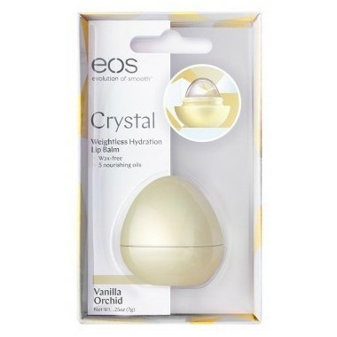 eos Crystal Weightless Hydration Lip Balm Vanilla Orchid