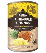 Cha's Organics Pineapple Chunks In Juice