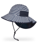 Sunday Afternoons Kids Play Hat Navy Stripe