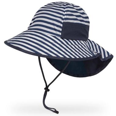 Sunday Afternoons Kids Play Hat Navy Stripe