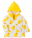 ZOOCCHINI UPF50+ Baby Terry Swim Coverup Duck